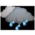 Μέτρια βροχόπτωση