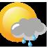 Ηλιοφάνεια με τοπικές νεφώσεις και πιθανότητα παροδικών βροχών ή ψεκάδων